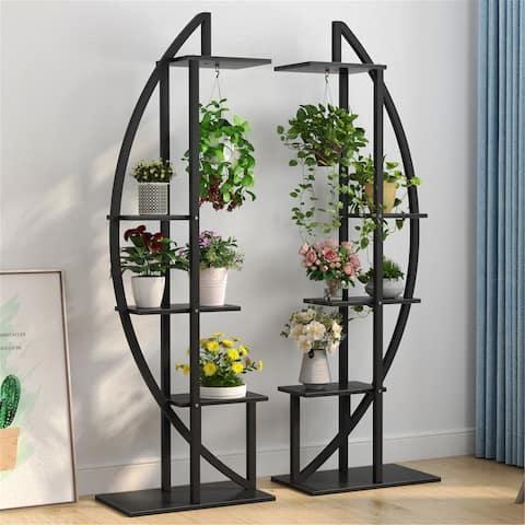 2 Pack Plant Stand Rack, Display Shelf, Flower Rack