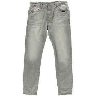 Calvin Klein Jeans Mens Regular Fit Taper Jeans - 32/32