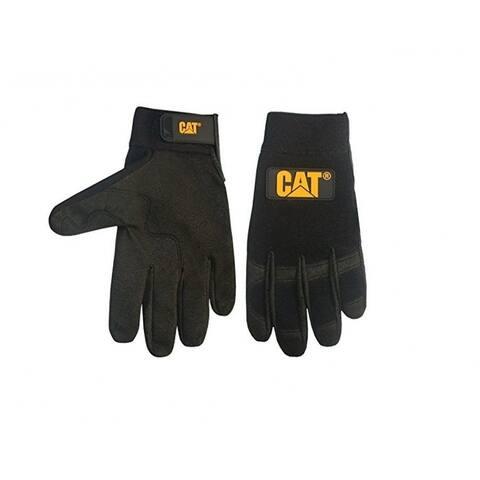 Cat CAT012212L Mechanics Style With Clarino Palm Glove, Large