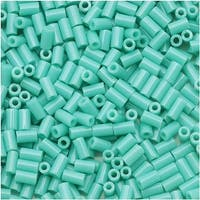 Toho Bugle Tube Beads Size 1 / 2x3mm Opaque Turquoise 8 Grams