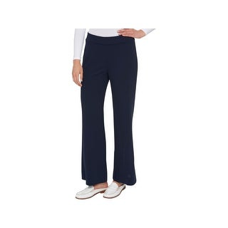 Tommy Hilfiger Womens Wide Leg Pants Pull On Casual