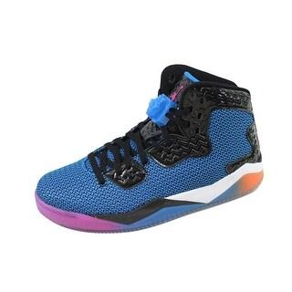 newest collection 3761d 423ff ... top quality nike mens air jordan spike forty black fierce pink photo  blue atomic orange 096af