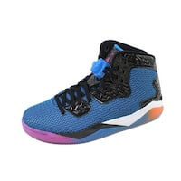 Nike Men's Air Jordan Spike Forty Black/Fierce Pink-Photo Blue-Atomic Orange 819952-029