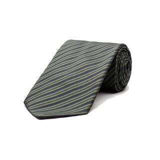Versace Men's Striped Silk Necktie