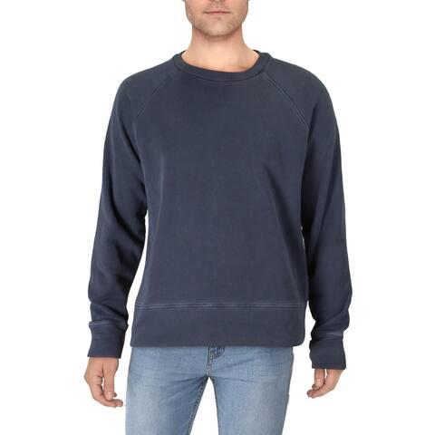 Joe's Jeans Mens Crew Sweatshirt Cotton Long Sleeve - Grease