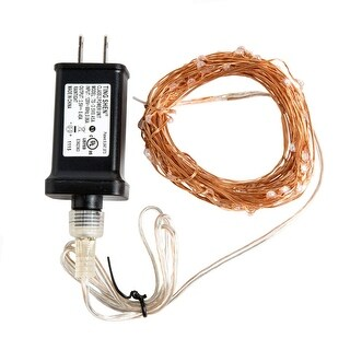 Hometown Evolution Inc 33FT 33 Foot Plug-In (100) LED Diode Indoor/Outdoor Fairy Lights (More options available)