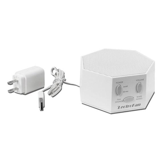 LectroFan - Fan Sound and White Noise Machine, White