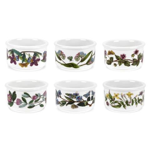 Portmeirion Botanic Garden Stackable Ramekins Set of 6 - 5 ounce