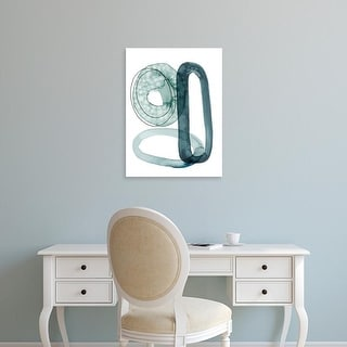 Easy Art Prints Grace Popp's 'Looping Abstract II' Premium Canvas Art