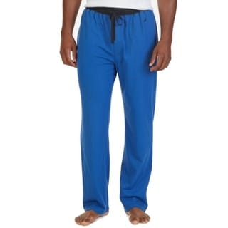 Nautica NEW Blue Black Mens Size Medium M Lounge Pants Sleepwear
