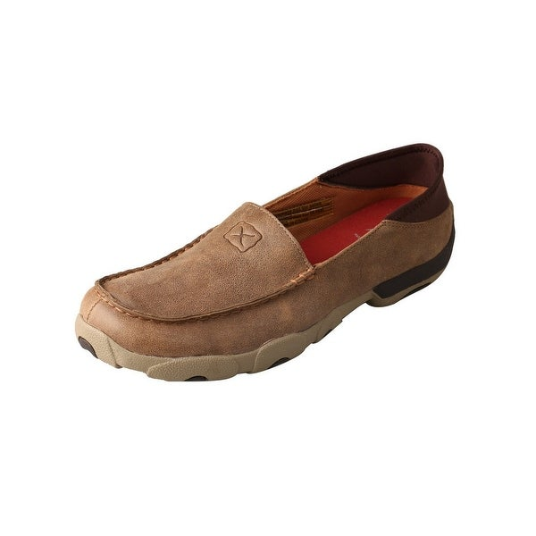 Twisted X Casual Shoes Mens Slip On Loafer Driving Moc Bomber