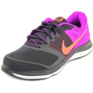 Nike Dual Fusion X Round Toe Synthetic Running Shoe