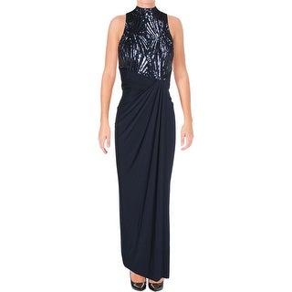 Lauren Ralph Lauren Womens Formal Dress Matte Jersey Sequined