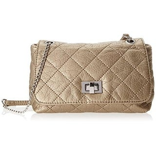 Bebe Marie Quilted Crossbody Handbag Free Shipping Today