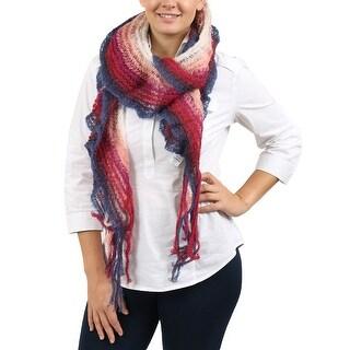 Missoni Pink/Fuschia Crochet Scarf - 10.4-66