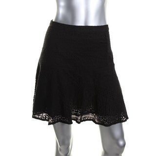 Joie Womens Terina B Flare Skirt Lace Mini