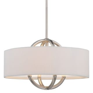 "Kovacs P075-084 3 Light 10"" Height Drum Pendant"