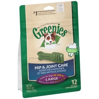 Greenies Hip & Joint Care Canine Dental Chews Large 18oz