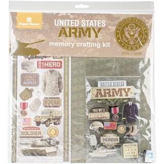 """U.S. Military Page Kit 12""""X12""""-Army"""