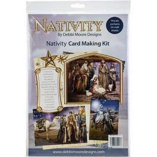 Nativity - Debbi Moore A4 Cardmaking Kit W/24 Sheets