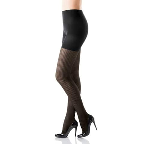 Spanx Hounds tooth Patterned Tight-End Tights 318A