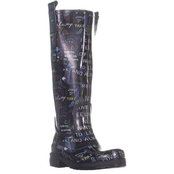 9e1b89adc64 Shop DKNY Niagara Knee High Rain Boots, Multi 999 - 6 US / 36 EU ...