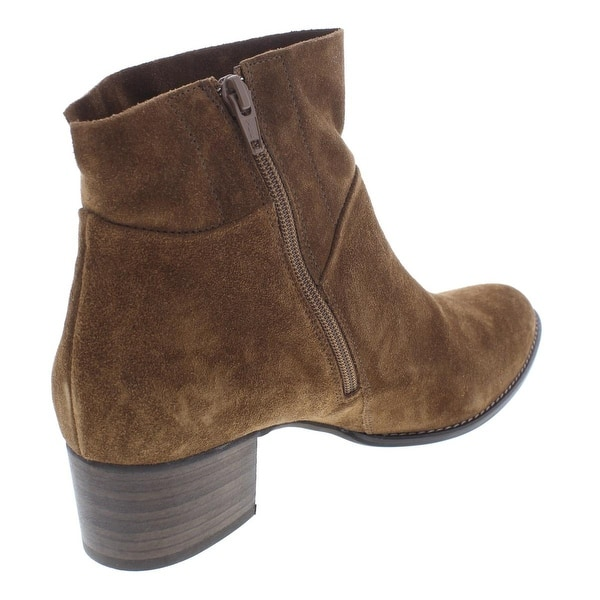 Onorevole imbattersi Abbreviare  Shop Paul Green Womens Faye Booties Suede Almond Toe - Overstock - 25614581