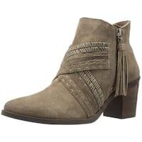 Naughty Monkey Womens noah Closed Toe Ankle Fashion Boots