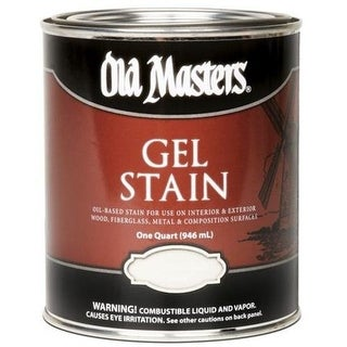 Old Masters 81804 Gel Stain 1 Quart, American Walnut