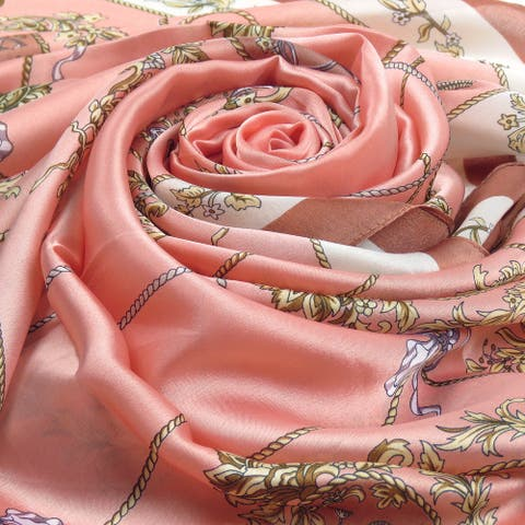 WomenS Long Scarf Luxury Silk Shawl Wraps For Summer Spring Lightweight Scarves & Wraps For Women Fashion Stole