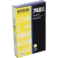 Epson 748 Yellow Ink Cartridge w/ 4000 Pages Yield for WorkForce Printer