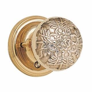 Privacy Door Lock Set 2 3/8 Backset Heavy Cast Brass Knobs