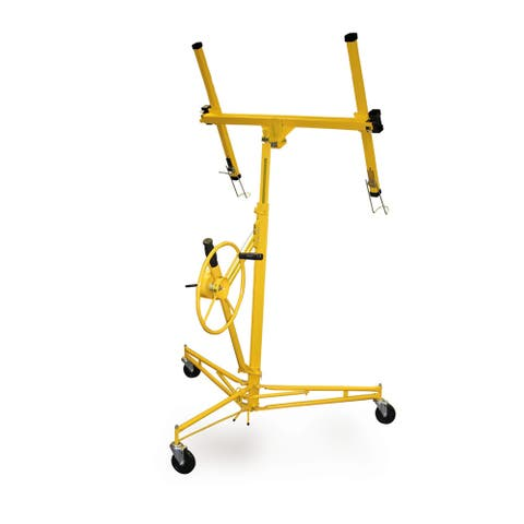 Offex Drywall And Panel Hoist - Yellow