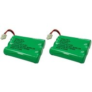 Replacement Battery For Uniden DECT1480-5 / DECT1588-4 Phone Models (2 Pack)