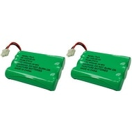 Replacement VTech 27910 / DS3111 NiMH Cordless Phone Battery - 600mAh / 3.6V (2 Pack)