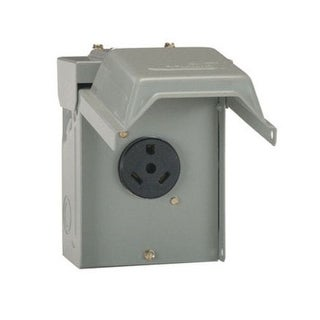 GE U013P Power Outlet Panel, 30 Amp
