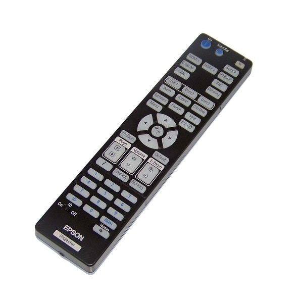 OEM Epson Projector Remote Control Shipped With PowerLite 5535U, 5510, 5520W
