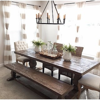 Weathered Hardwood Studded Beige Dining Chair By Christopher Knight Home Set Of 2 On Free Shipping Today 6444198