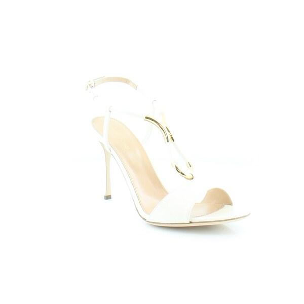 Sergio Rossi Twist Women's Heels Gr. Whit/Gr. Whi - 9.5