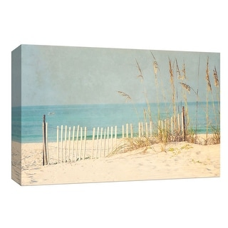"PTM Images 9-148025  PTM Canvas Collection 8"" x 10"" - ""At the Beach"" Giclee Beaches and Waves Art Print on Canvas"