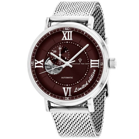 Christian Van Sant Men's Somptueuse Limited Edition Brown Dial Watch - CV1143