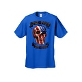 Men's T-Shirt USA Flag Skull Live Free Or Die Stars & Stripes Skeleton Bones Tee - Thumbnail 3