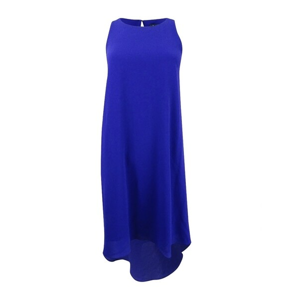 e62da2bc0c1 Shop Lauren Ralph Lauren Women s Stretch Crepe A-Line Dress - dame purple -  Free Shipping Today - Overstock.com - 22992701