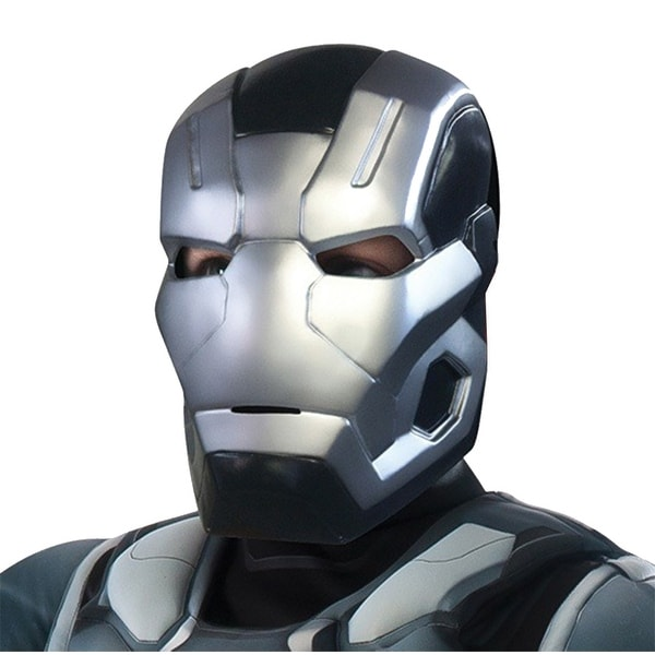 Captain America 3 War Machine 2 Piece Costume Mask Child One Size - Silver