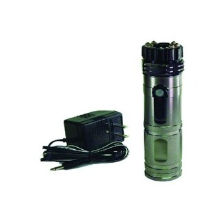 Rechargeable Stun Gun Flashlight Combo