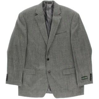 Lauren Ralph Lauren Mens Wool Notch Collar Sportcoat - 42R