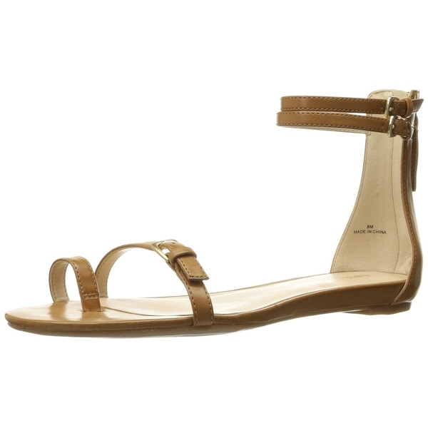 Nine West Womens Onque Open Toe Casual Ankle Strap Sandals