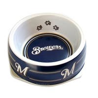 Milwaukee Brewers Dog Bowl - Small