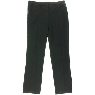 Tahari Womens Theora Ponte Stretch Dress Pants