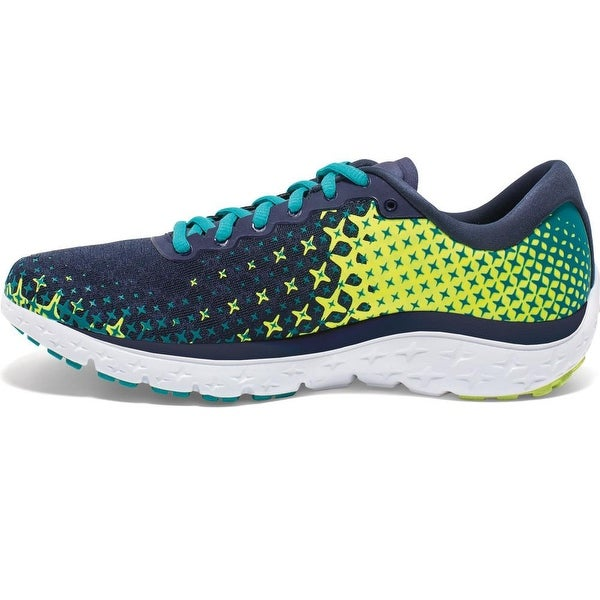 Brooks Womens Pure Flow 5 Canvas Low Top Lace Up Running Sneaker